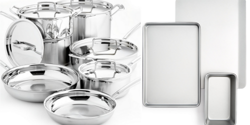 Macy's: Extra 25% Off Coupon When you Donate = Nice Savings on Cuisinart Cookware Sets + More