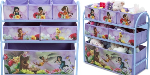 Walmart: Disney Fairies Multi-Bin Toy Organizer Only $14.99
