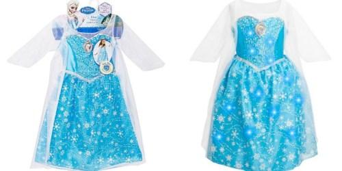 Kohl's Cardholders: Disney Frozen Elsa Musical Light-Up Dress $13.99 Shipped