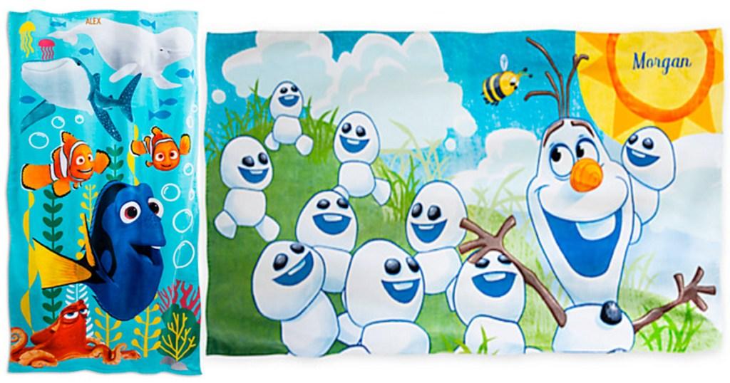 disneystore com 1 personalization sale personalized beach towels