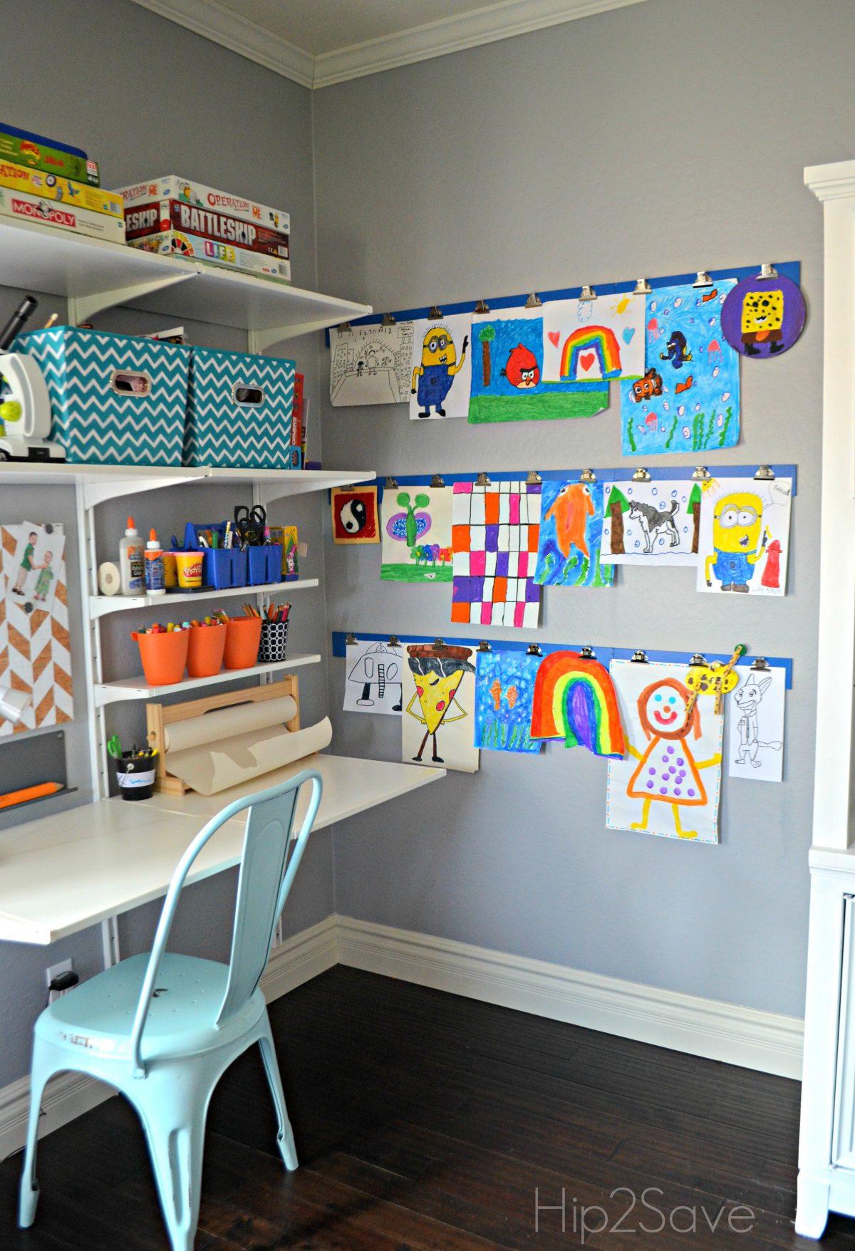 Display Kids Art at Home