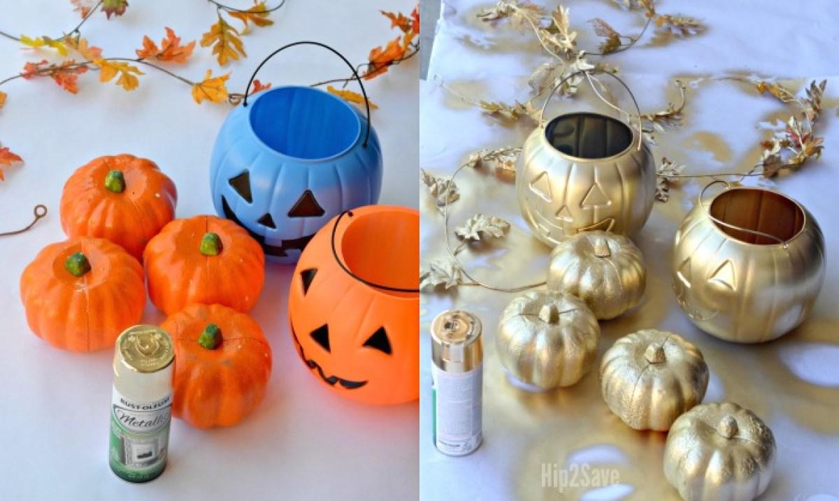 diy-gold-pumpkins