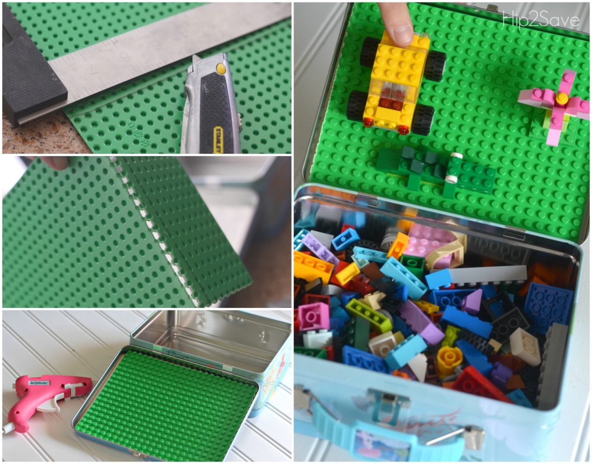 LEGO Large Capacity Travel Project Case Green Storage NEW
