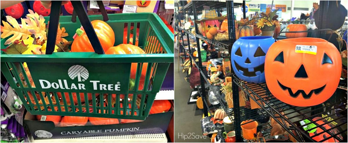 Dollar Store and Goodwill Fall Decor Hip2Save.com