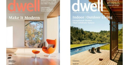 FREE Subscription To Dwell Magazine