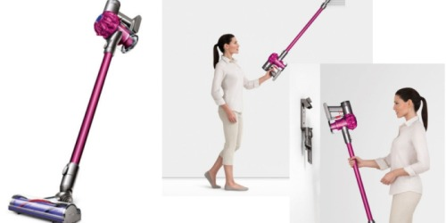 Dyson V6 Cordless Stick Vacuum (Manufacturer Refurbished) Only $199.99 Shipped