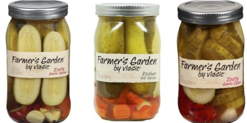 High Value $1/1 Vlasic Farmer's Garden Pickles Coupon = Only $1.35 Per Jar at Target