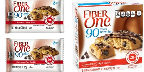 Amazon: Fiber One Brownies 6ct Box Only $2.09 Shipped