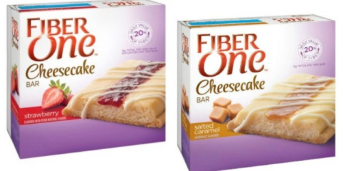 Target: Fiber One Cheesecake Bars Only $1.47