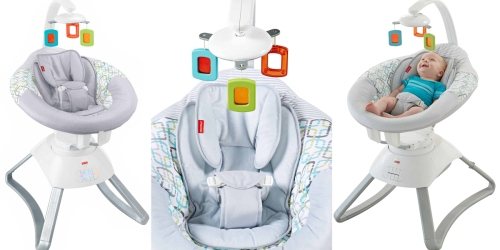 Walmart: Fisher Price Soothing Motions Baby Seat Only $99.88 Shipped (Regularly $149.97)