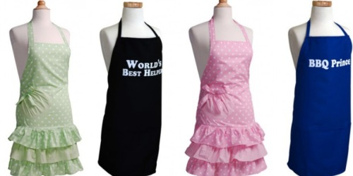 Flirty Aprons: Boys and Girls Aprons Only $9.97 Shipped (Regularly $19.95)