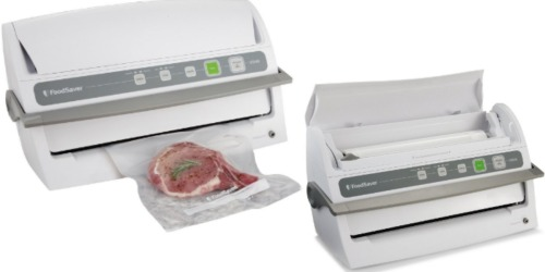 Amazon: FoodSaver Vacuum Sealing System With Starter Kit Only $71.99 Shipped (Reg. $118.99)