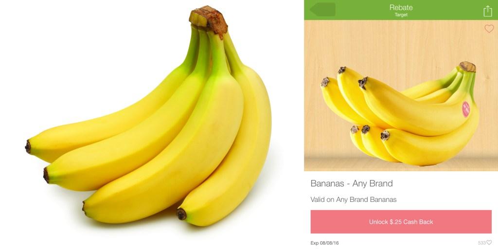 Target bananas