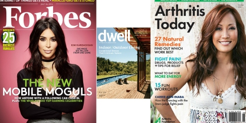 Score Your FREE Magazine Subscription to Forbes, Dwell, Arthritis Today & More