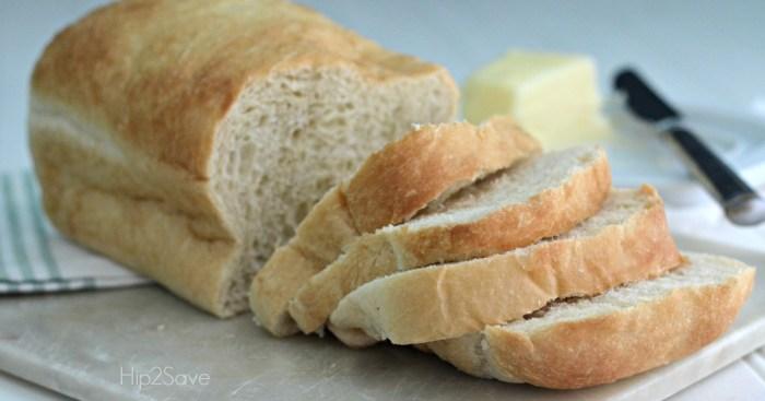 Fresh Loaf of Rhodes Bread