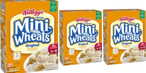 Target: Kellogg's Frosted Mini Wheats Only $1.49 Starting 8/7 – Print Coupons Now