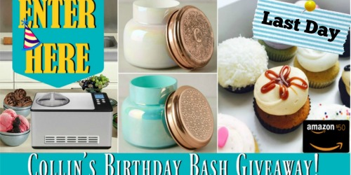 Last Chance To Enter Birthday Bash Subscriber Giveaway!