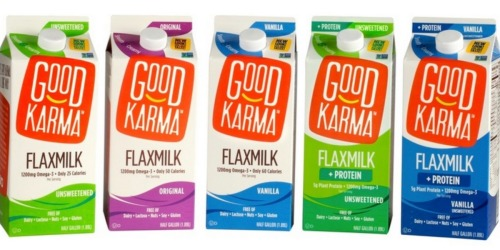 Target: Good Karma FlaxMilk 64-Oz Only 62¢