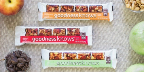 Kroger: Free GoodnessKnows Snack Square eCoupon + $1 Off $6 Starbucks Purchase at Kiosk