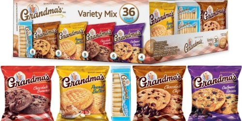 Sam's Club: Grandma's Cookies 36-Count Variety Pack Only $9.58 (Just 27¢ Per Package!)