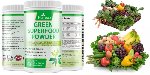 Amazon: Natrogix Green Superfood Powder Only $12.99 Shipped (Regularly $21.99)