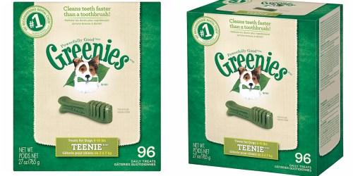 Amazon: Greenies Dental Dog Treats 96-Count Box ONLY $15.98 Shipped