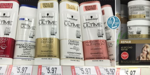 Walmart: FREE Schwarzkopf Essence ULTIME Hair Care Product (After Try Me Free Rebate)