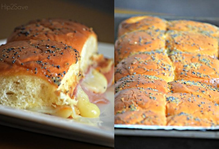Ham & Cheese Baked Party Sliders