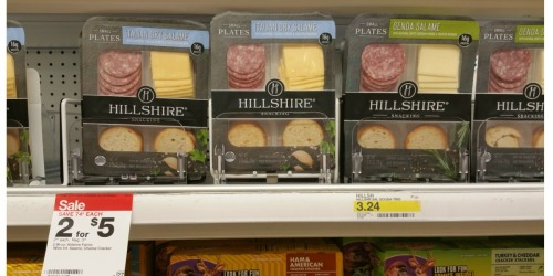 NEW $0.75/1 Hillshire Snacking Small Plates Coupon = Only 25¢ Each at Target (After Ibotta)