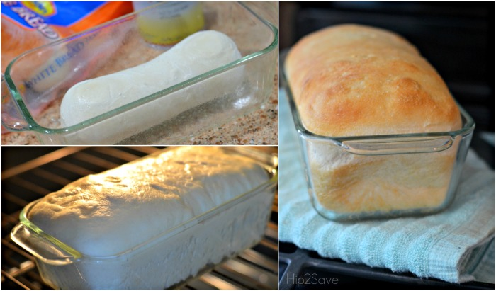 How to Bake a Rhodes Loaf of Bread Hip2Save.com