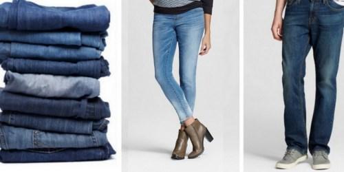 Target Cartwheel: 25% Off Select Men's & Women's Jeans