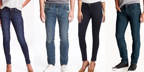 Old Navy: Adult Jeans Only $12 (Regularly $29.94+), In-Store Only