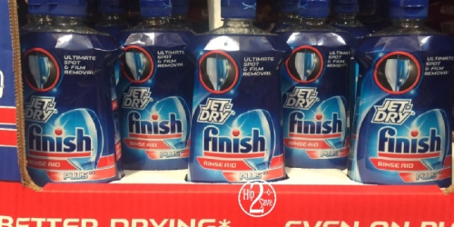 Costco: HUGE Bottles of Finish Jet-Dry Plus Dishwasher Rinse Aid $4.99 Each (Regularly $9.99)