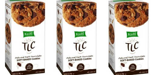 Amazon: THREE Kashi Oatmeal Dark Chocolate Cookie Boxes Only $5.24 Shipped (Just $1.75 Per Box)