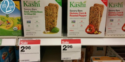 NEW Kashi Savory Bars Coupon = Only 96¢ At Target (After Ibotta)