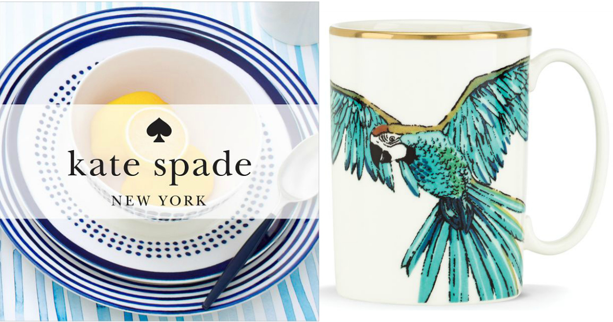 Lenox: Up to 70% Off + FREE Shipping = Kate Spade New York Mug ...
