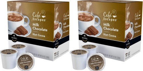 Best Buy: Cafe Escapes Hot Chocolate K-Cups 16-Count Only $5.99 (Only 37¢ Each!)