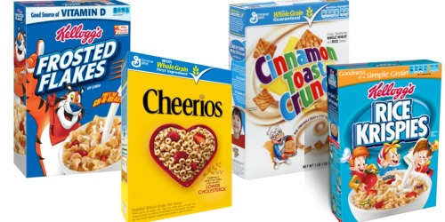 Target: Kellogg's and General Mills Cereals as Low as 99¢ Per Box (Starting 8/21)