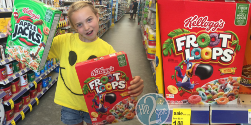Stock Up On Kellogg's Cereal for Just 83¢ Per Box at Walgreens (After Cash Back Rebates)