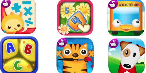 Get Ready for School with 39 FREE Kids' Apps!