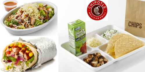 Chipotle: Kids Eat FREE Every Sunday in September (With Adult Meal Purchase)