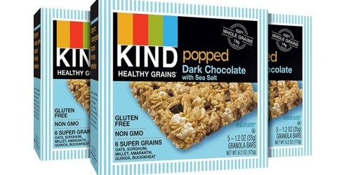 Amazon: Save BIG On KIND Gluten-Free Bars (as Low as 38¢ Per Bar)