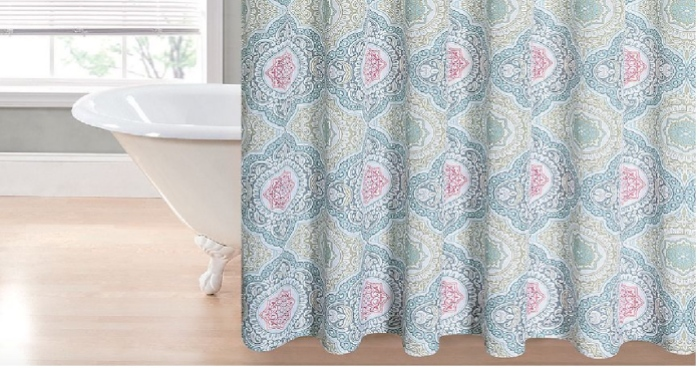 Kohls Cardholders Regal Home Printed Shower Curtains Only 7