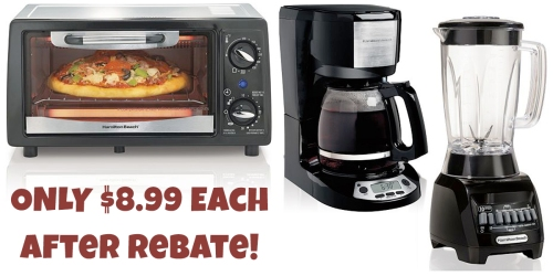 Kohl's Cardholders: Hamilton Beach Kitchen Appliances $8.99 Each Shipped (After Rebate)