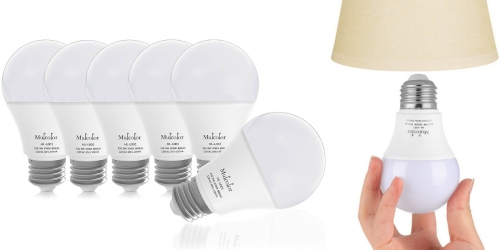 Amazon: Pack of 6 LED Globe Light Bulbs Only $14.99 (Regularly $39.99) – Just $2.50 Per Bulb