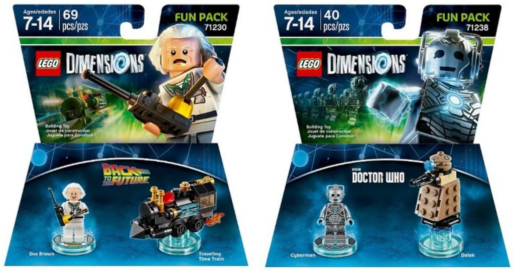 Lego dimensions fun packs
