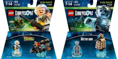 Deep Discounts On LEGO Dimensions Fun Packs