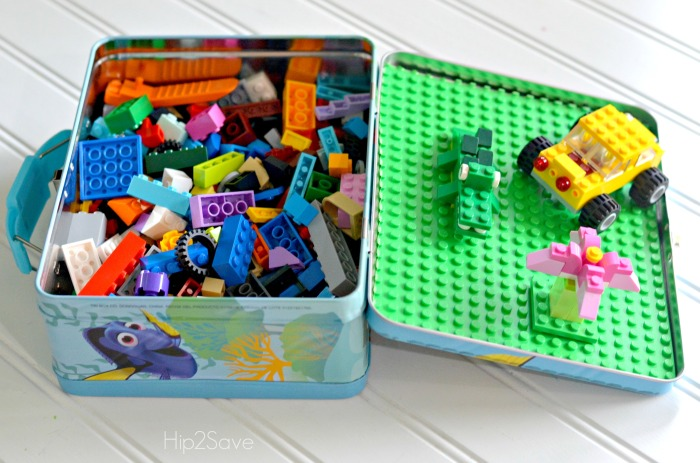 Lego Lunchbox Travel Case Craft Hip2Save.com