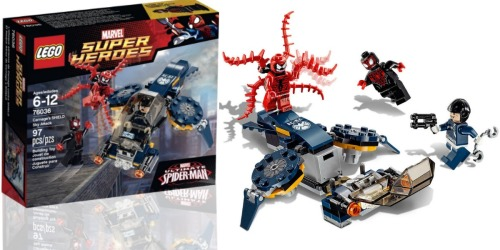 LEGO Super Heroes Carnage's Shield Sky Attack Building Kit Only $9.09 (Best Price)