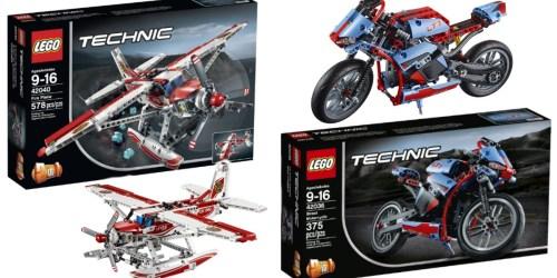 Save BIG on LEGO Technic Sets